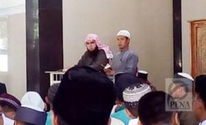 Qari internasional dari Palestina memberikan tips hafal al-Qur'an